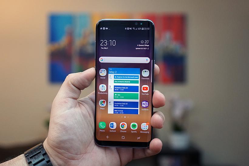 Экран Samsung Galaxy S9 будет бить рекорды