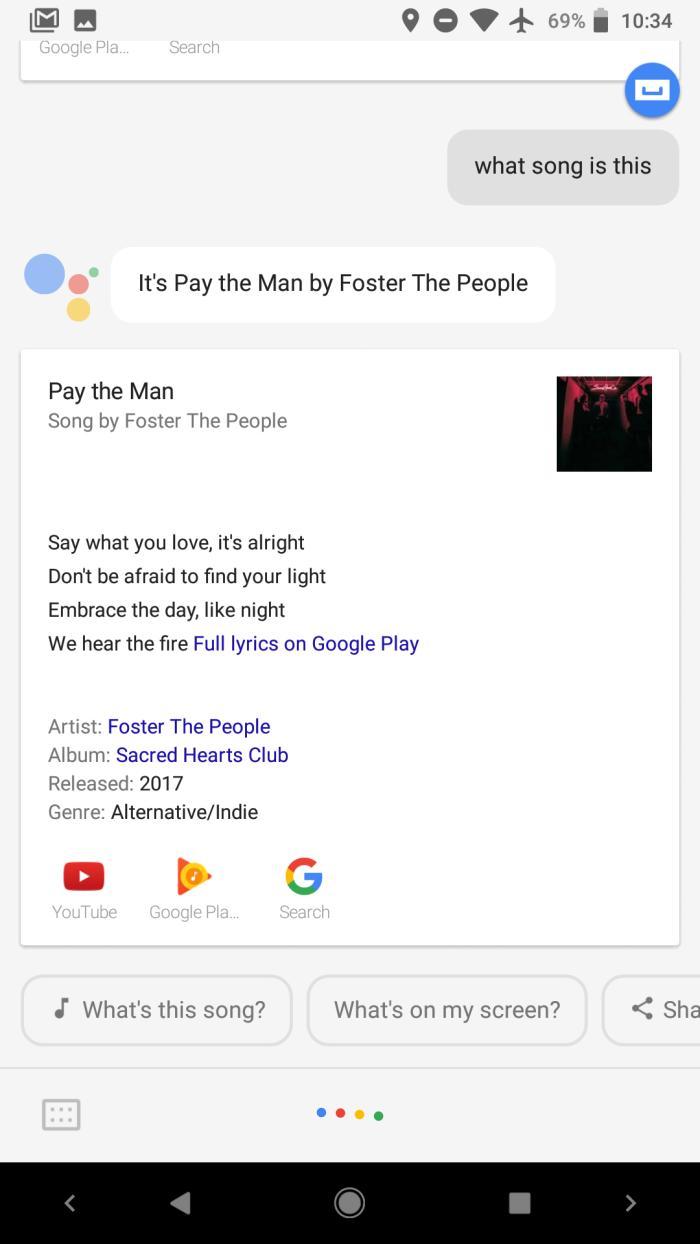 Google Now научился идентифицировать музыкальные треки для всех