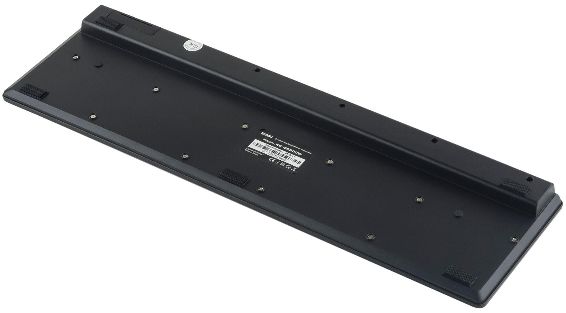 Кабели не нужны: обзор беспроводной клавиатуры SVEN KB-E5900W