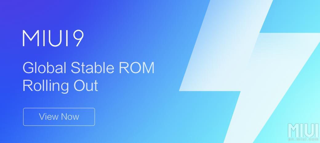MIUI 9 Global Stable ROM V9.0.1.0.NCAMIEI появилась для Xiaomi Mi 6 + ссылки