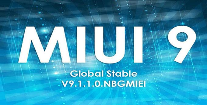 MIUI 9 Global Stable ROM V9.1.1.0 для Xiaomi Redmi 4/4x, Mix 2 и Mi 5 Pro