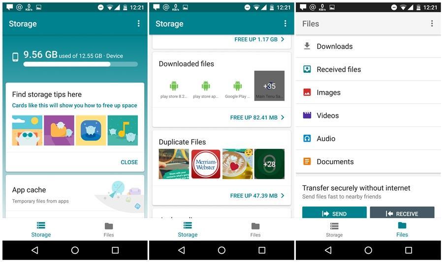 Неожиданне от Google: фирменное приложение файловый-менеджер Go Files