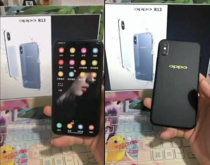 OPPO копирует iPhoneX и на всякий случай патентует