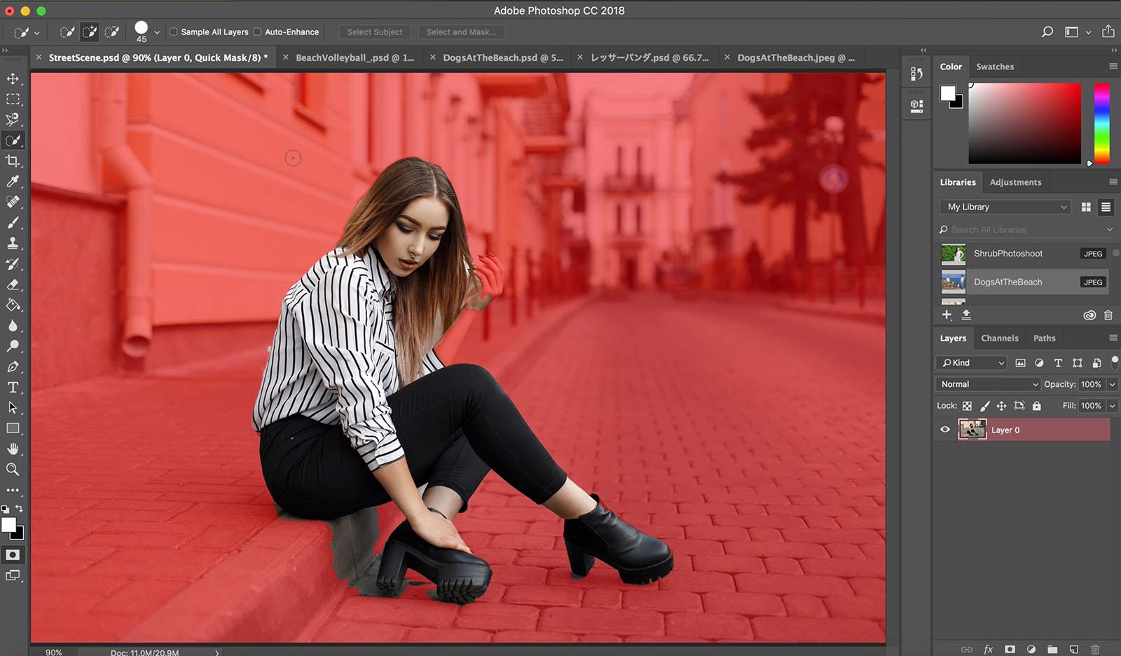 Photoshop становится проще - учится автоматически выделять объекты на фото