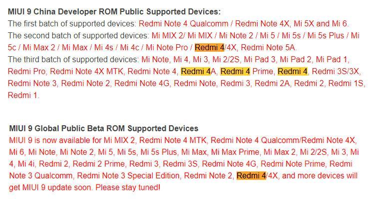 Утро начинается с MIUI 9: обновления до Global Beta ROM 7.11.10 и China Developer ROM 7.11.9