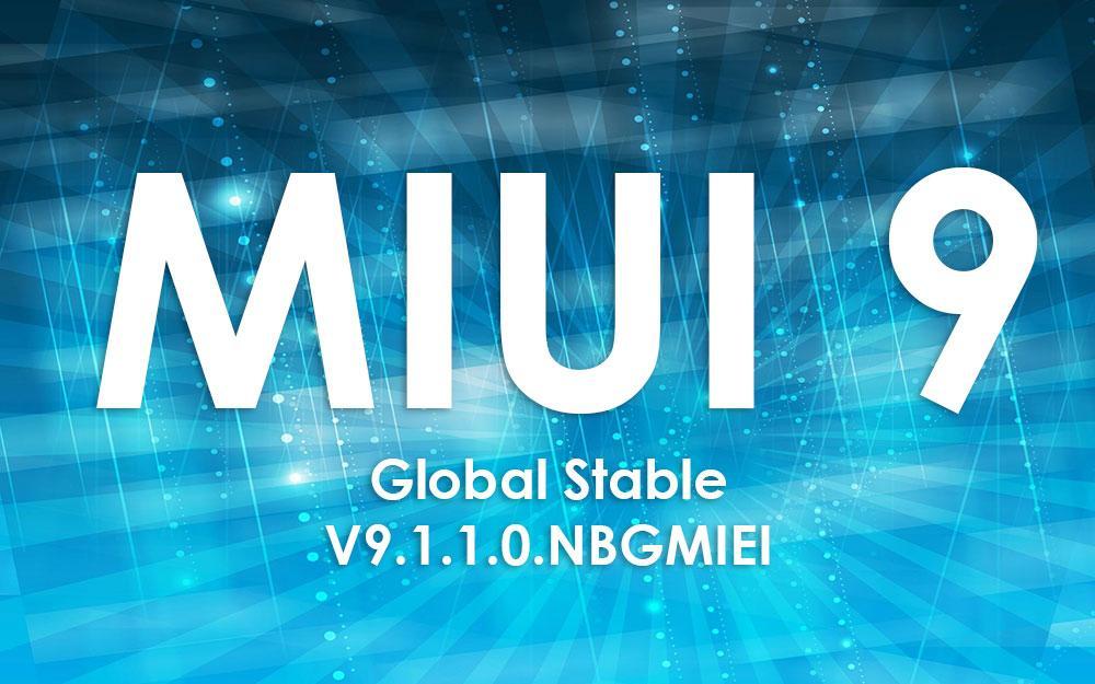 Xiaomi обновляет Mi 5s до прошивки MIUI 9 Global Stable V9.1.1.0.NBGMIEI