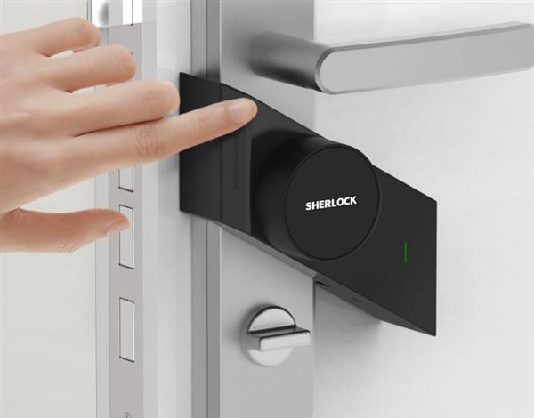 Xiaomi предлагает умный недорогой дверной замок Sherlock M1 Smart Lock