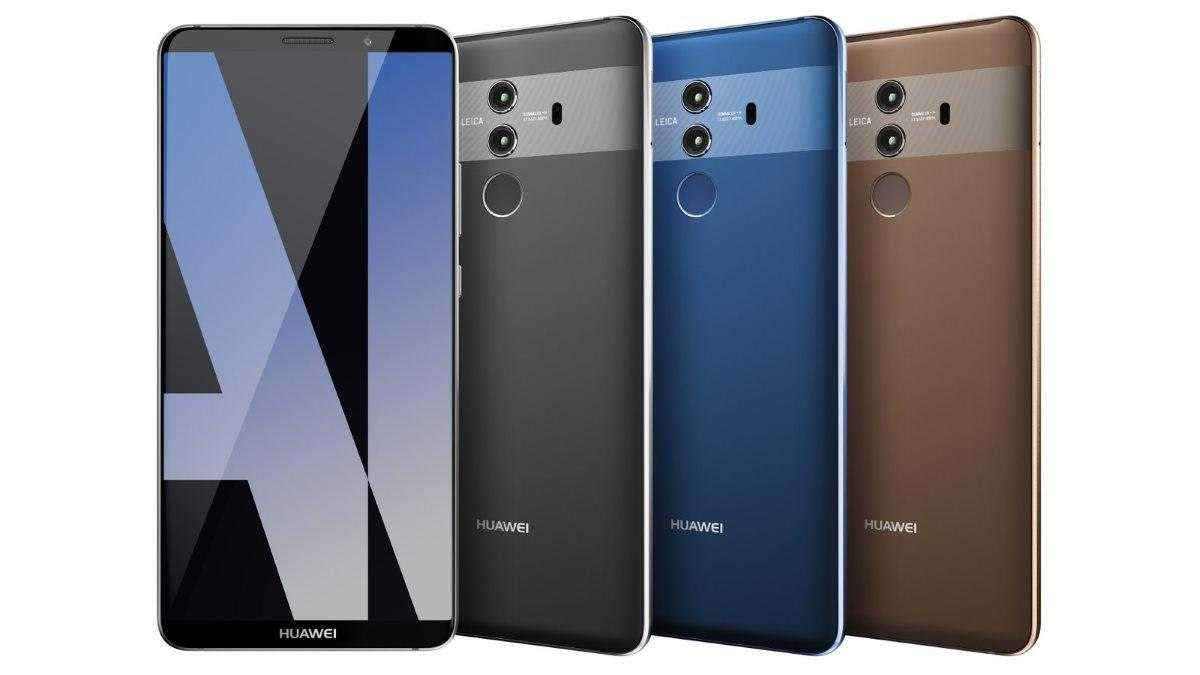 Huawei Mate 10 красуется наофициальных рендерах