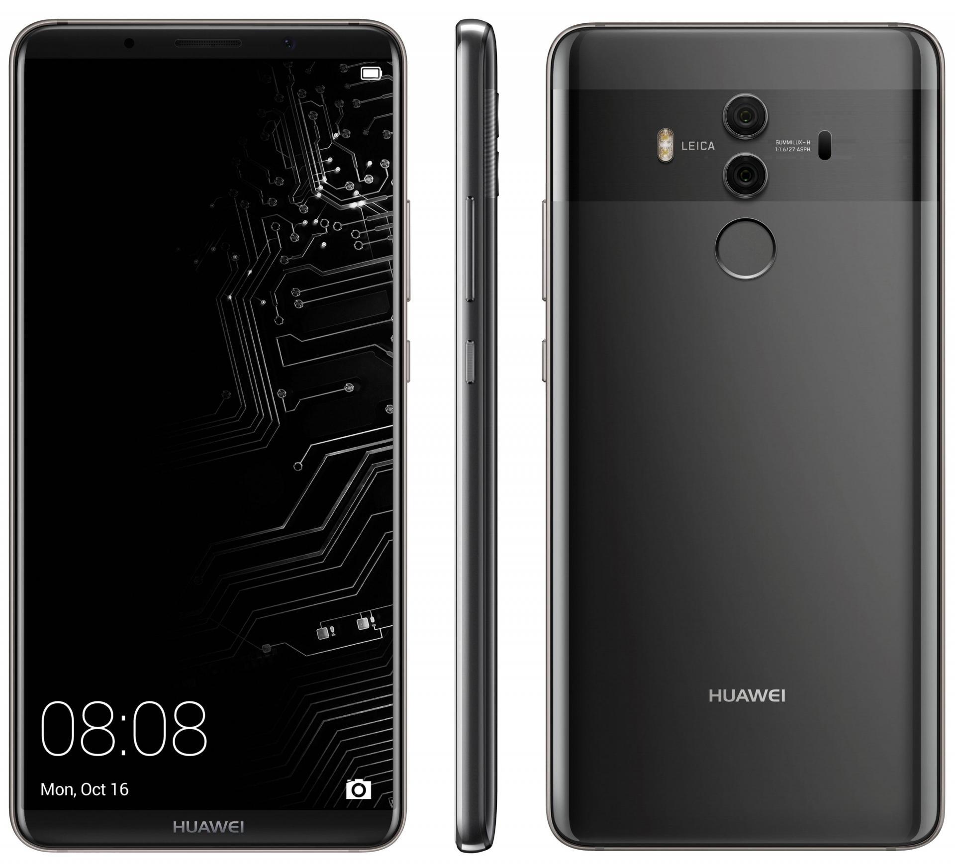 Huawei Mate 10 снова на фото