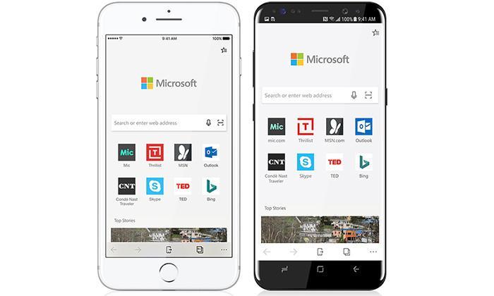 Microsoft планирует принести браузер Edge на Android и iOS