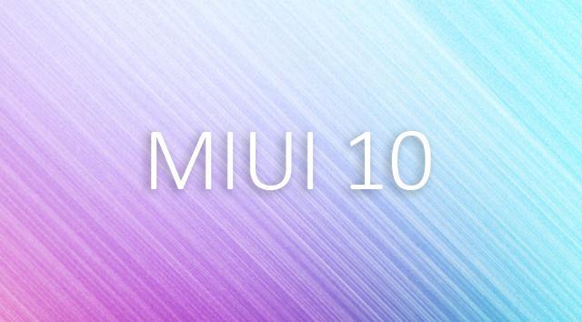 MIUI 10 - уже пора. Достаём первую информацию