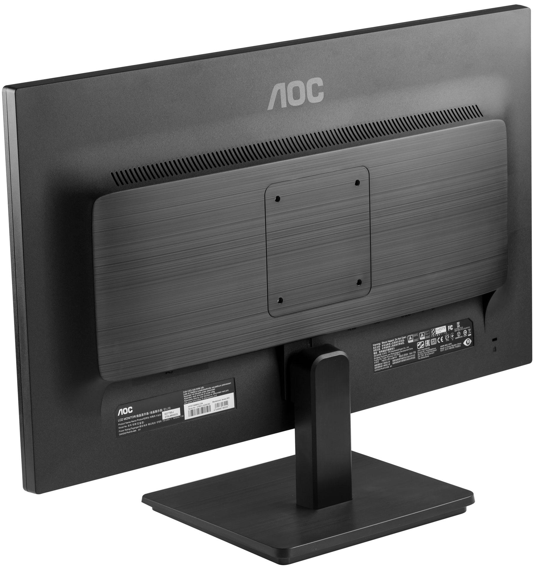 Монитор бизнес-класса: обзор 27-дюймового AOC E2775SJ