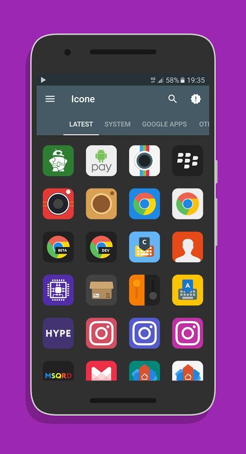 Очередная раздача платных иконок бесплатно в Google Play Store