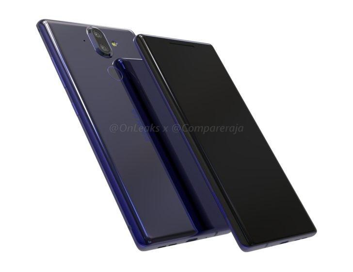 Свежие изображения Nokia 9 со всех сторон