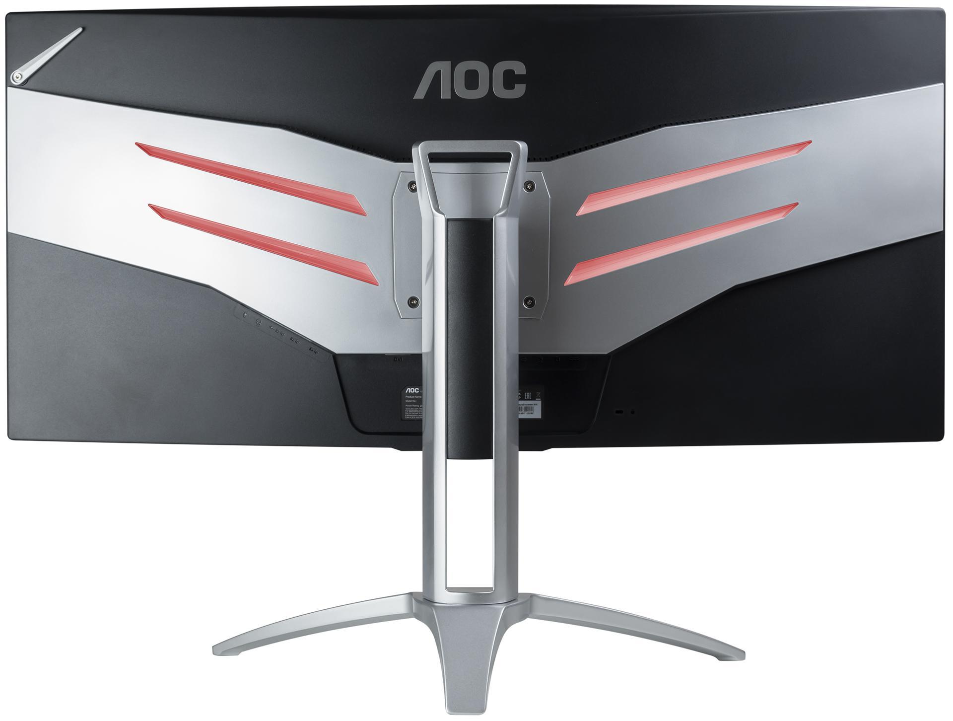 Все, что нужно геймерам: обзор монитора AOC AGON AG352QCX диагональю 35 дюймов