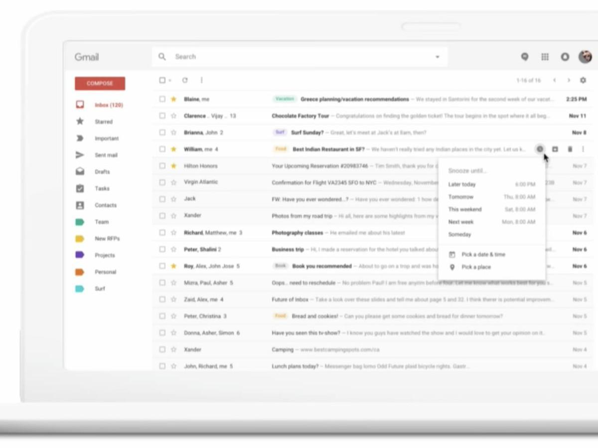 Gmail скоро преобразится вMaterial-стиль