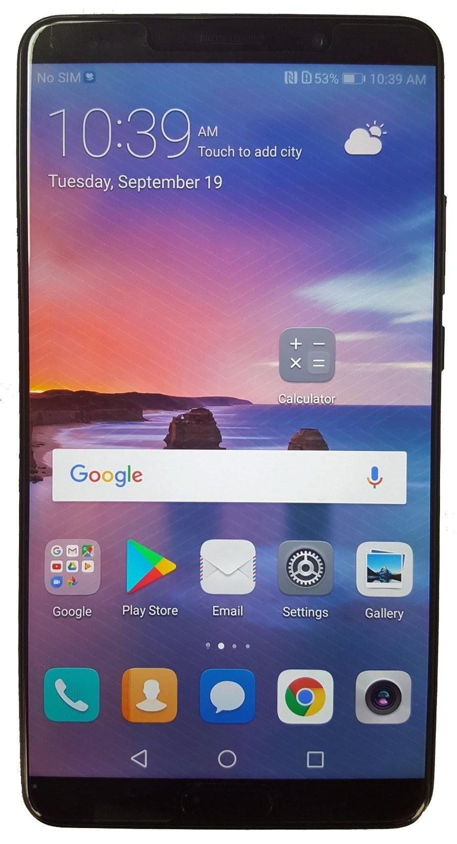 Huawei Mate 10 — внешне реально впечатляет