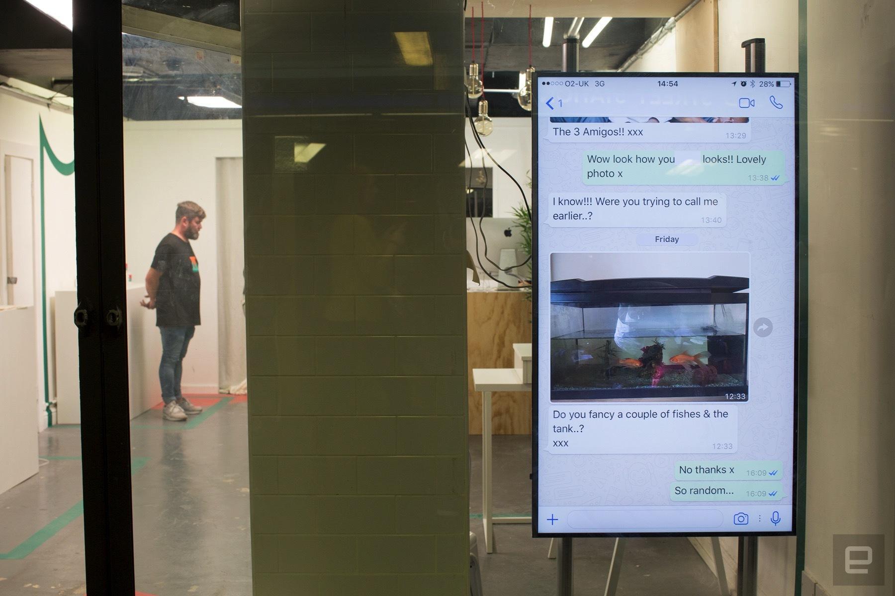 «Лаборатория Касперского» предложила лондонцам купить вещи за персональные данные