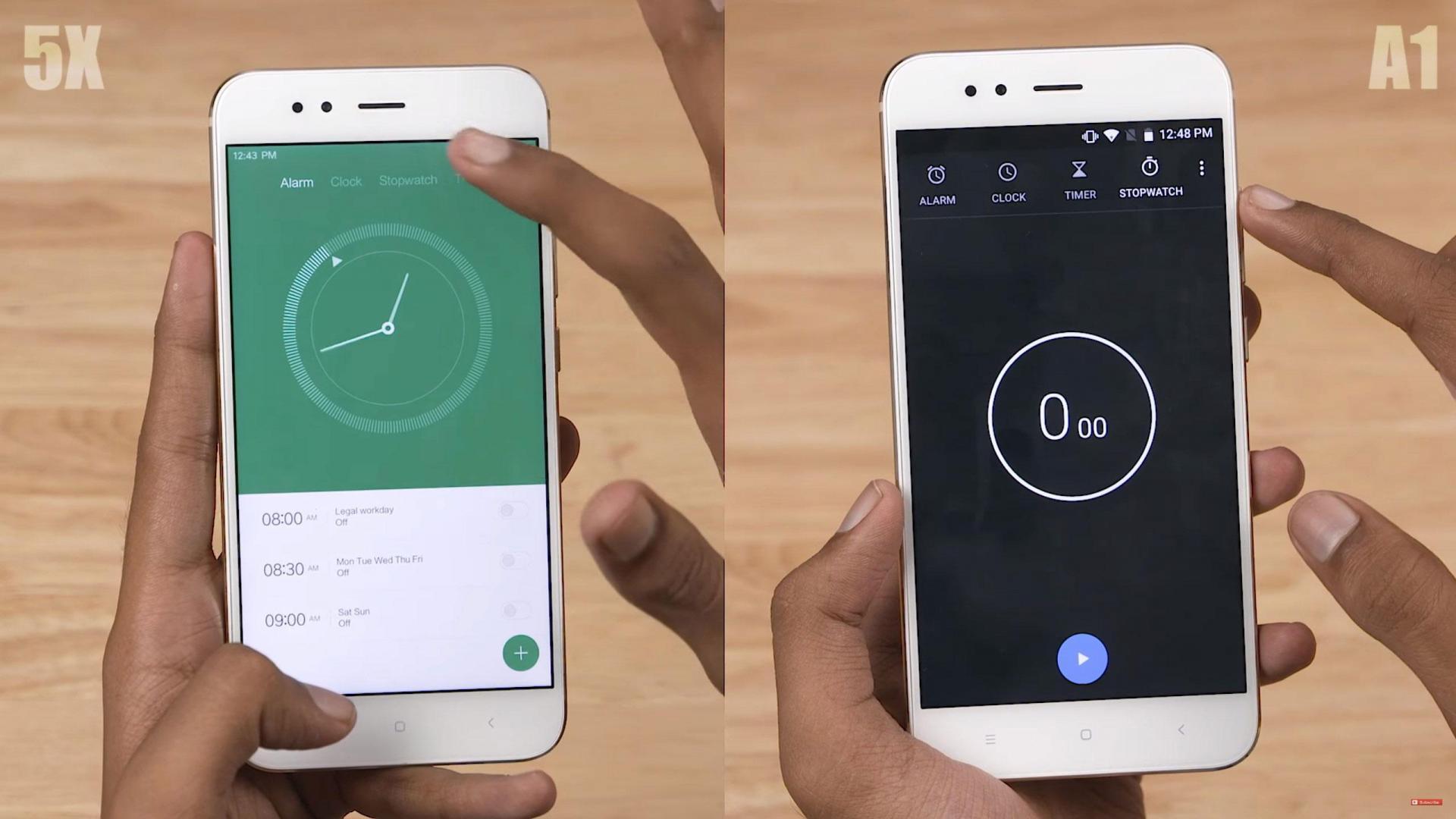 MIUI 9 против голого Android — видеосравнение. Кто победит?