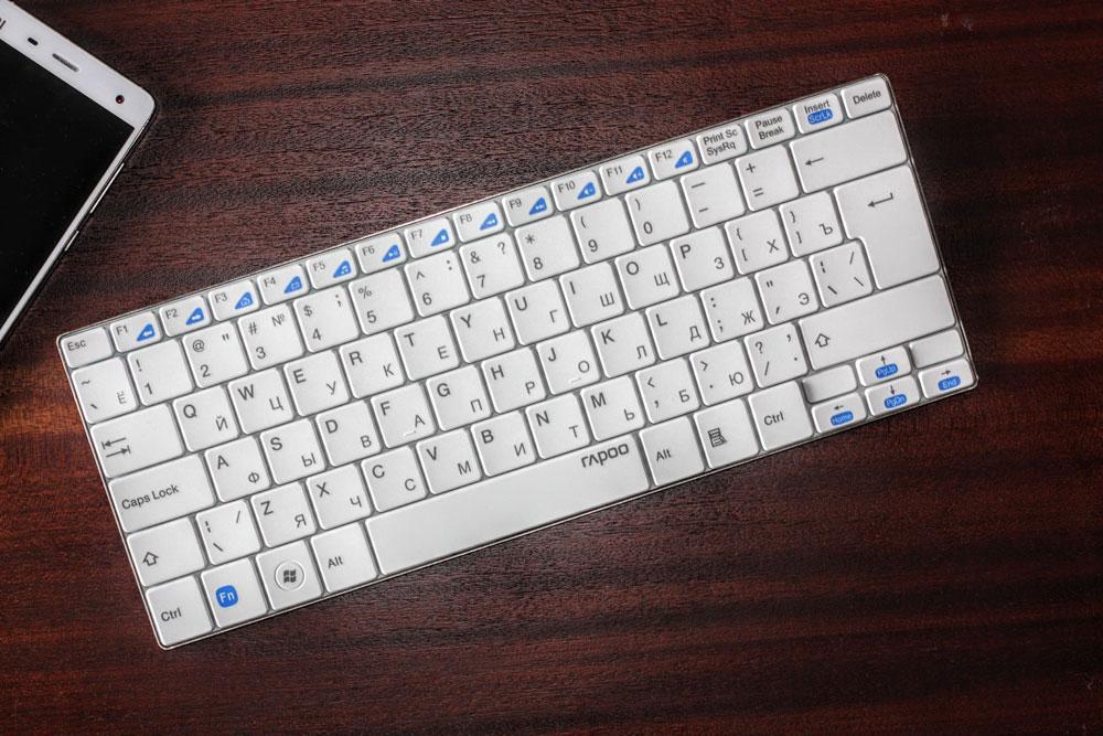 Обзор клавиатуры Rapoo E9050 /Rapoo E9070