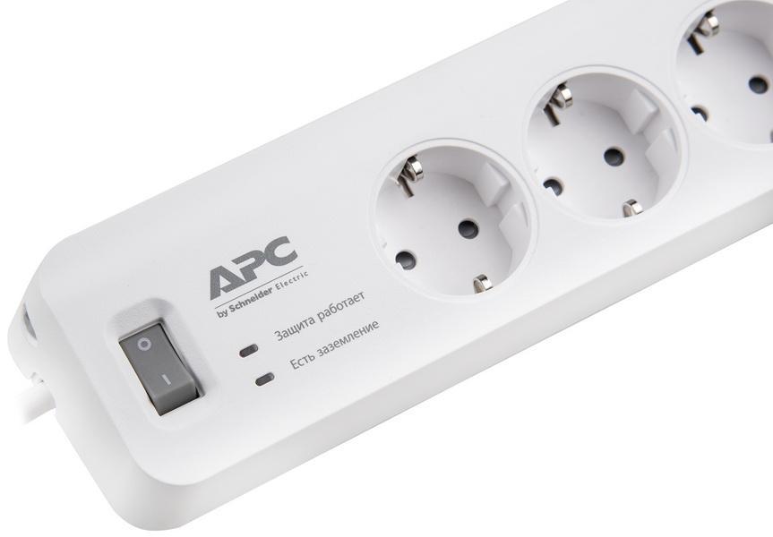 Обзор сетевых фильтров APC bySchneider Electric: АРС Р43-RS, АРС PM5U-RS,