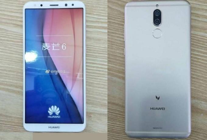 Первый смартфон Huawei состоронами 18:9 — модель G10 нафото