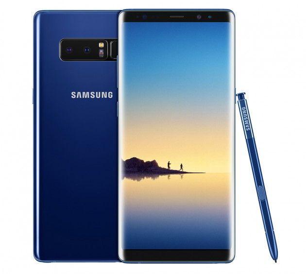 Samsung Galaxy Note 8 отлично заказывают, компания радуется цифрам