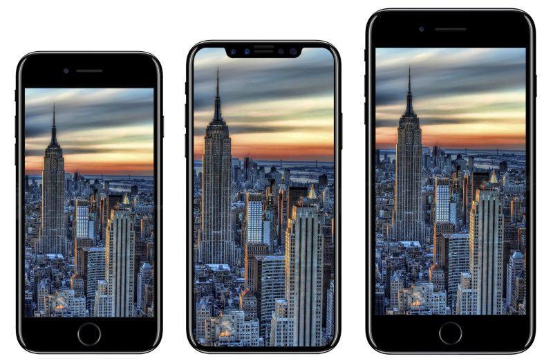 Уже работающий iPhone 8 попал на шпионское видео