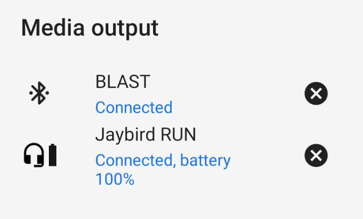 Android Pбудет помнить уровни звука для каждого устройства отдельно