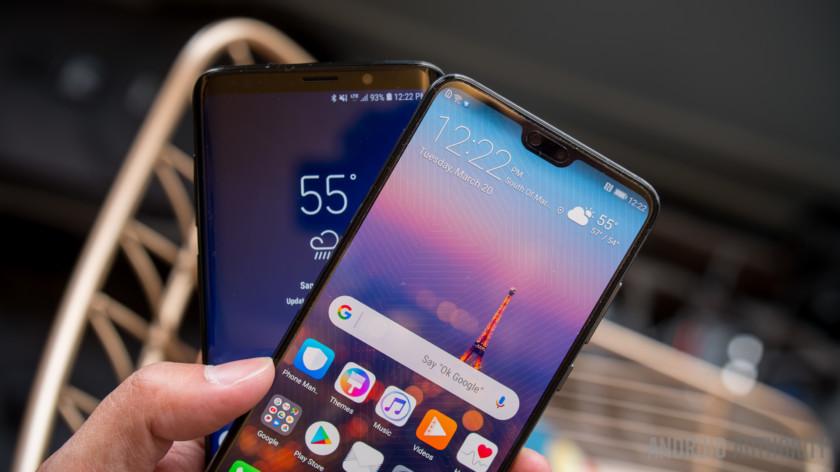 Битва флагманов: Huawei P20 или Samsung Galaxy S9