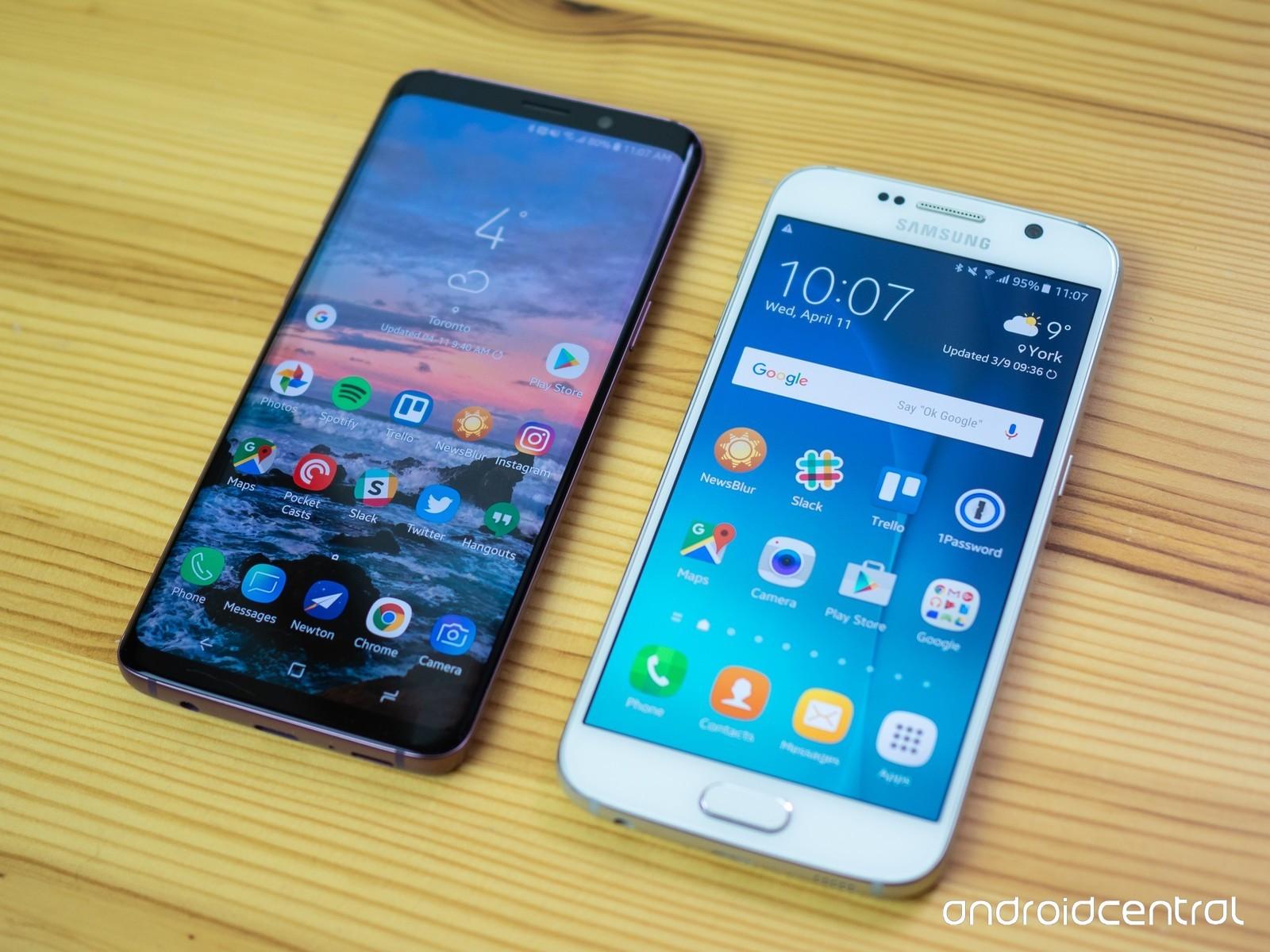 Galaxy S6 против Galaxy S9. Стоитли обновляться?
