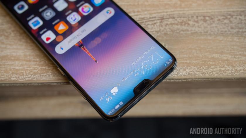 Huawei сообщает, что думала очёлках ещё доiPhone X