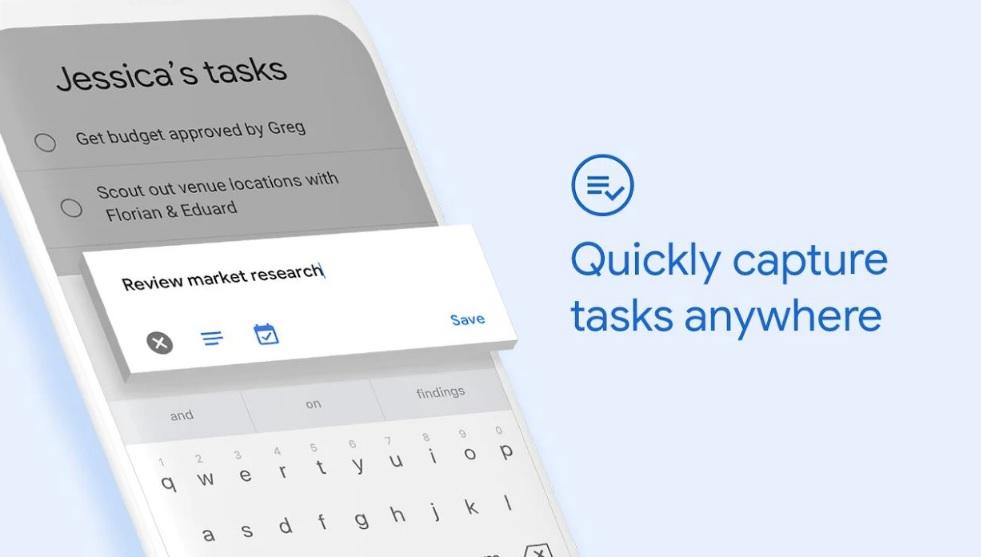 Новое официальноеприложение Google Task появилось вPlay Store