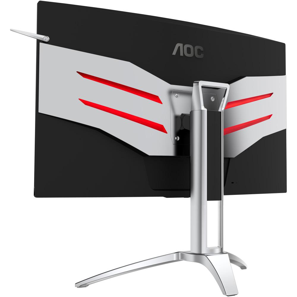 Вогнутая панель, плавный геймплей: обзор игрового монитора AOC AGON AG322QC