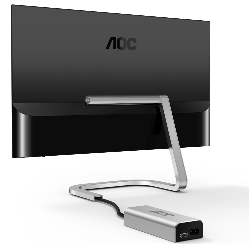 Впечатляющий дизайн, продуманная эргономика: тестируем монитор AOC PDS241