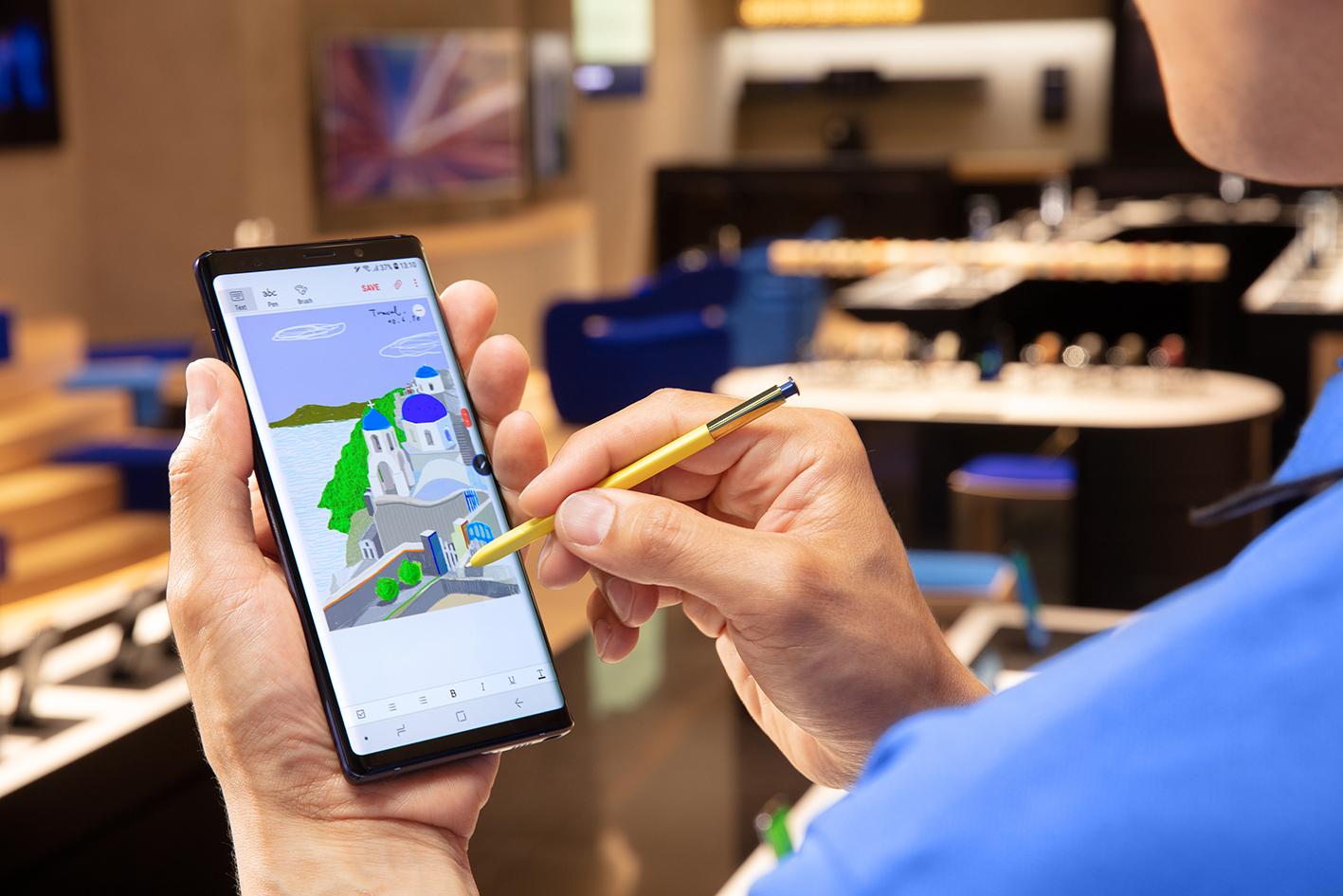 Самый навороченный Samsung — Galaxy Note 9