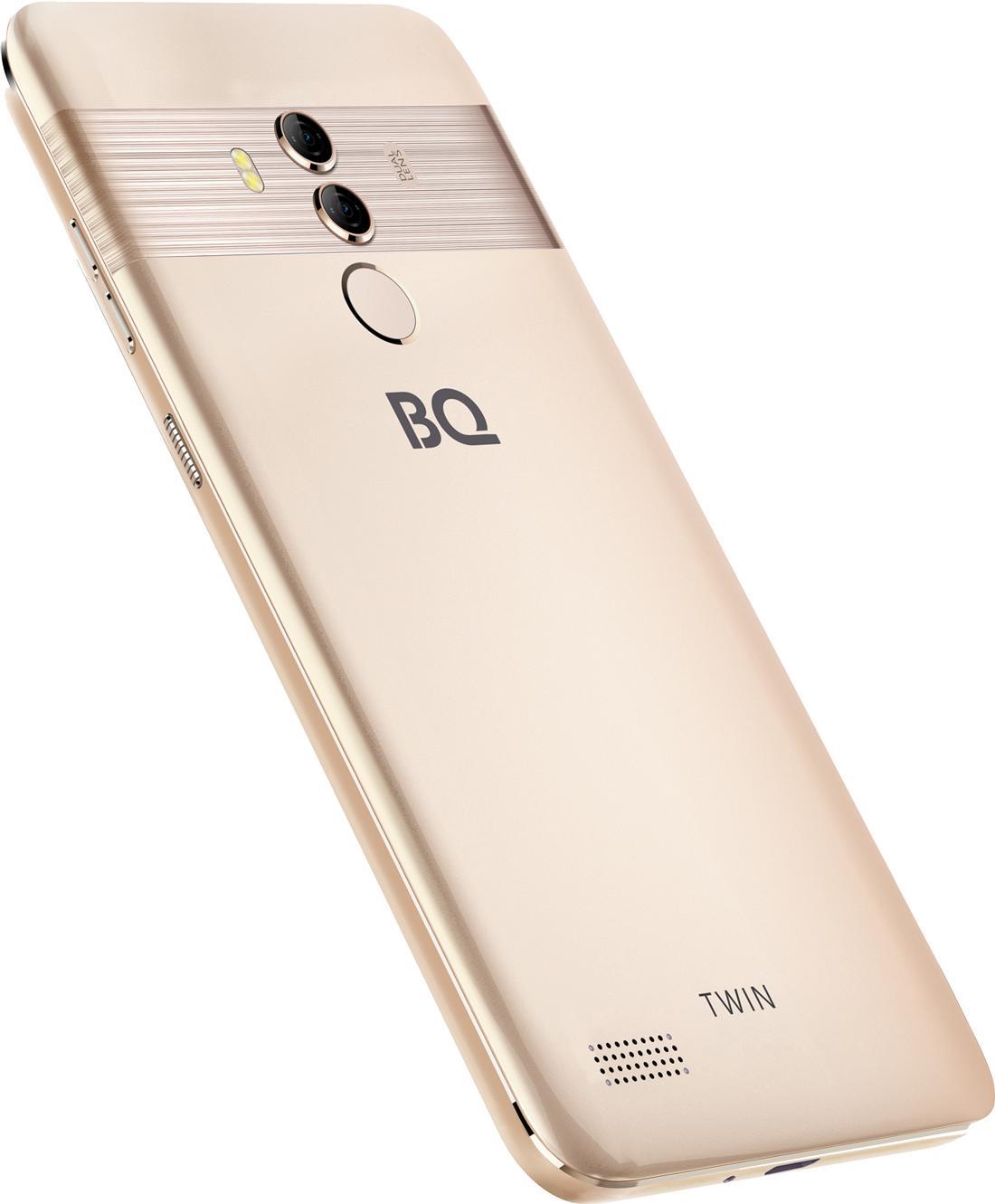 ВРоссии появился смартфон BQTwin (BQ-5516L Twin) за7990 рублей