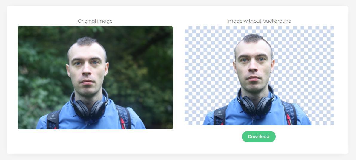 Как удалить фон сфотографиизанесколько секунд без Photoshop?