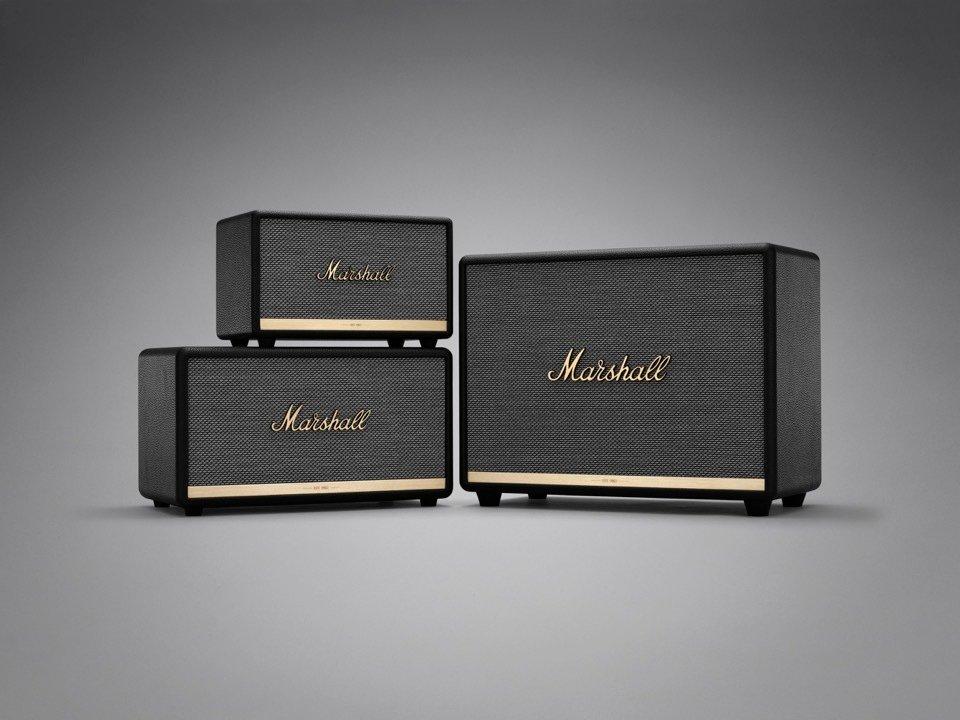 Marshall представила обновлённые акустические системыActon II, Stanmore II, Woburn II