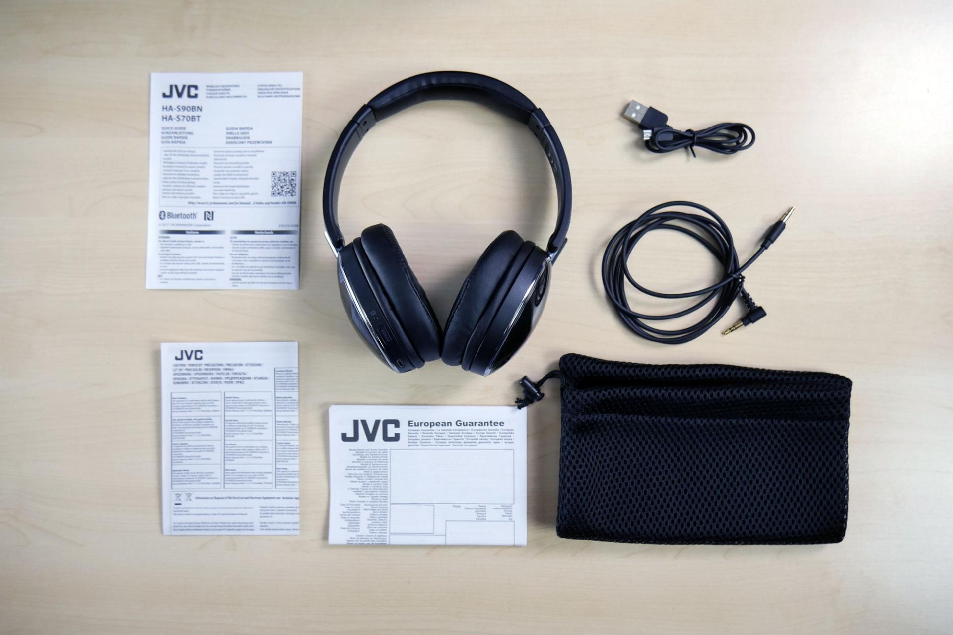Обзор беспроводных наушников JVC HS-S90BN-B сактивным шумоподавлением