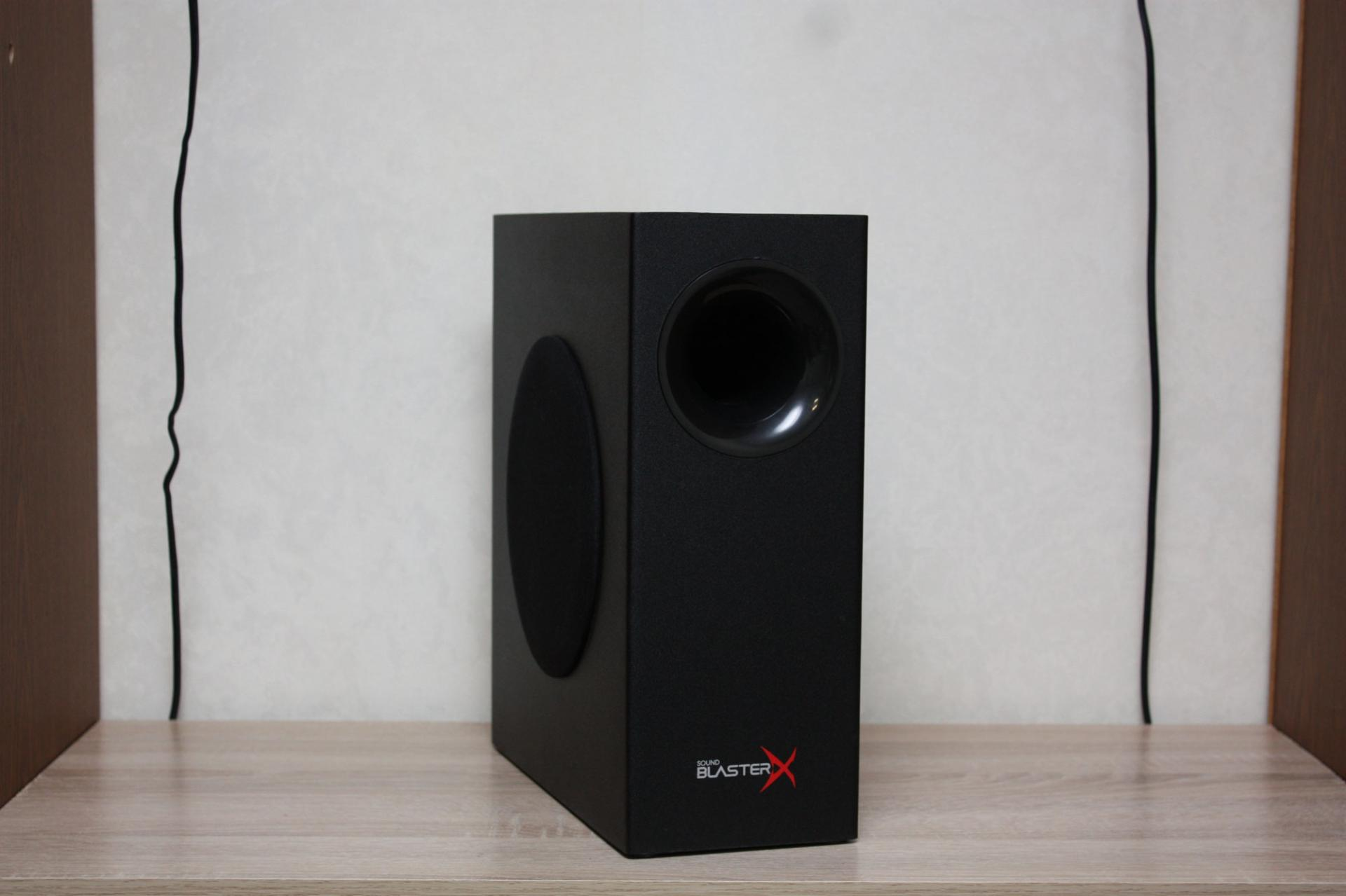 Подробный обзор саундбара Sound BlasterX Katana