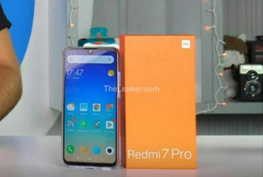 Xiaomi Redmi 7 будет выглядеть именно так