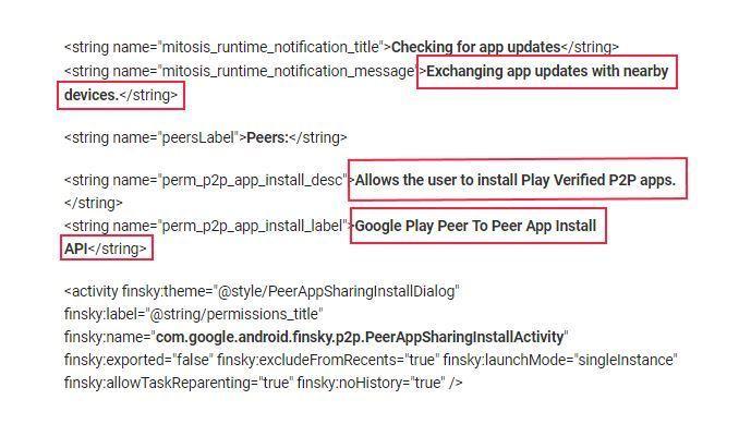 Google может внедрить пиринговые обновления для приложений из Play Store