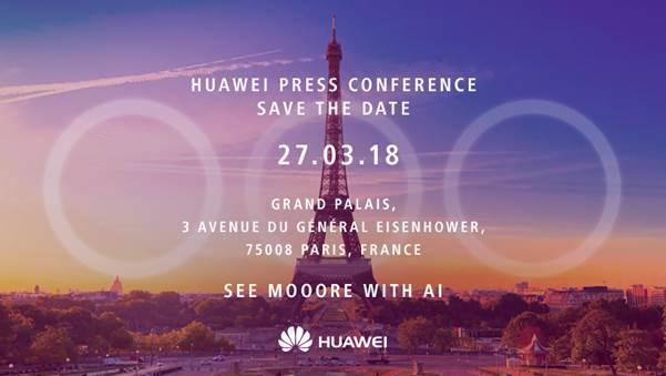 Huawei подтвердила 3 камеры для P20 и P20 Plus