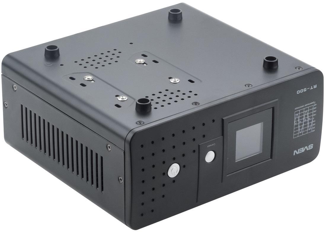 Источник бесперебойного питания с аккумулятором: тестируем SVEN RT-500