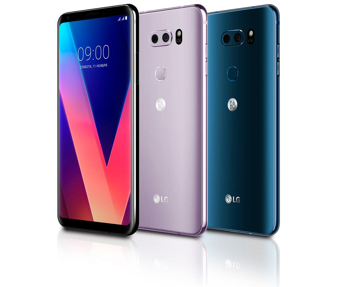 LG при покупке смартфона V30+ обещает 32-дюмовый ТВ или пылесос Cord Zero в подарок