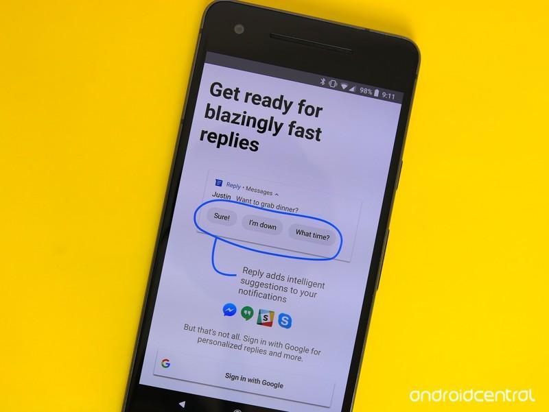 Новое фирменное приложение Google Reply уже в стадии беты