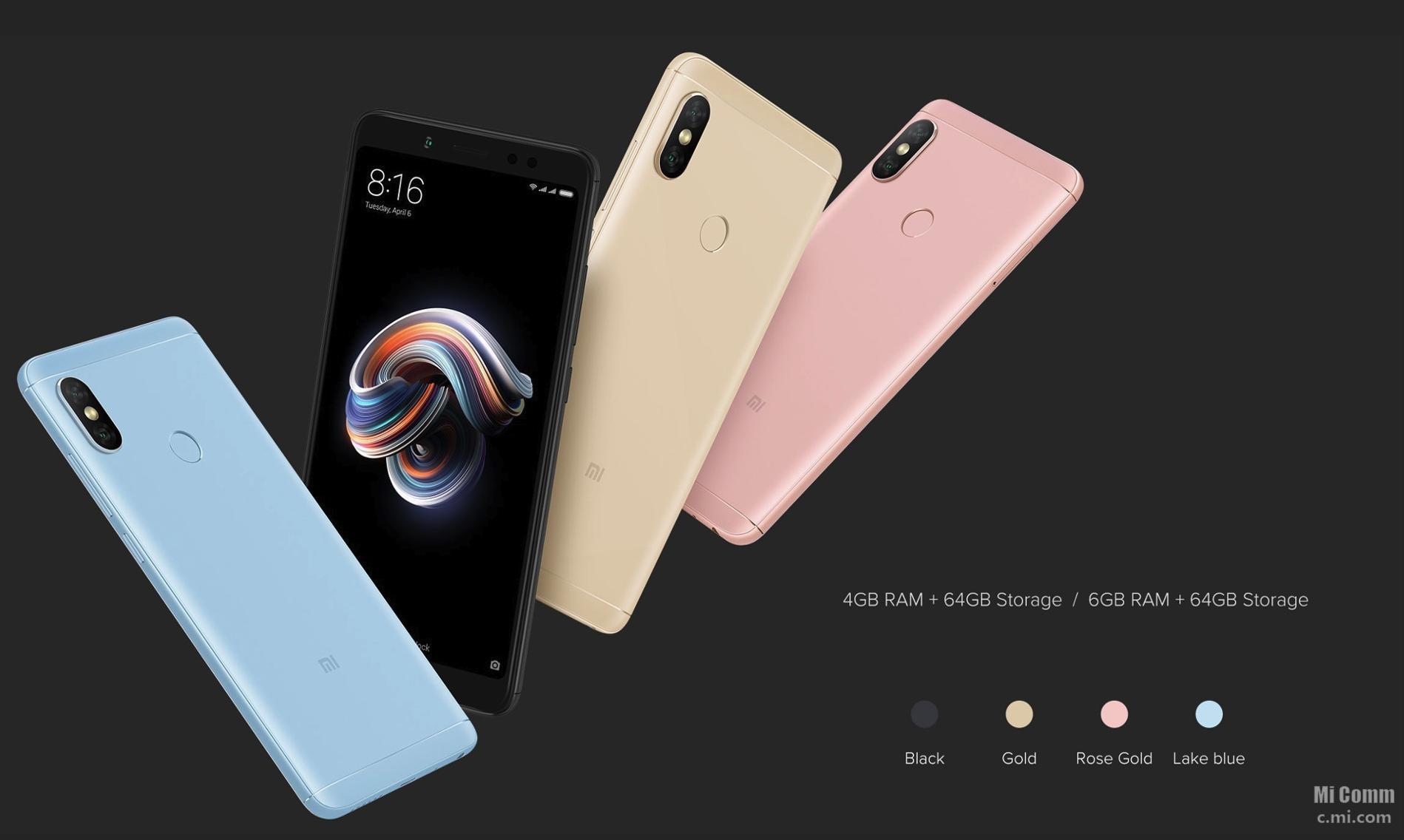 Потенциальные бестселлеры 2018 года - Xiaomi Redmi Note 5, Note 5 Pro