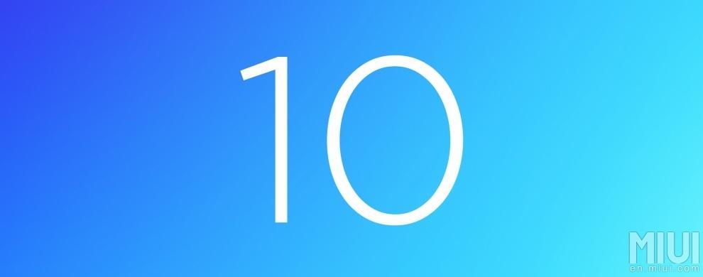 Xiaomi предлагает выбрать название для MIUI 10 - голосование