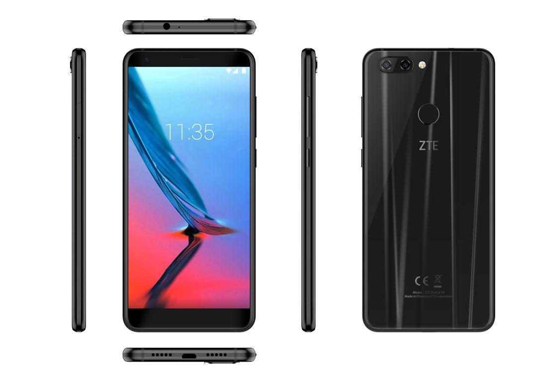 ZTE пополняет портфолио смартфоном Blade V9